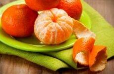 Корки мандарина — полезные свойства