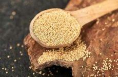Амарантовые семена для здоровья организма